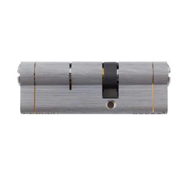 Цилиндр Securemme 3220CCS35501X5 К22 35/50 мм 5кл +1 монтажный ключ мат.хром 1