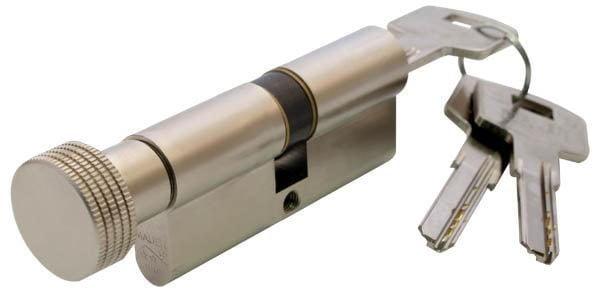 Цилиндр Mauer KC11-E1/E2 41/31=72mm кругл.ручка никель 1
