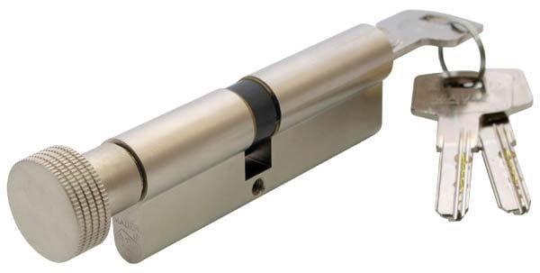 Цилиндр Mauer KC19-E1/E2 46/46=92mm кругл.ручка никель 1