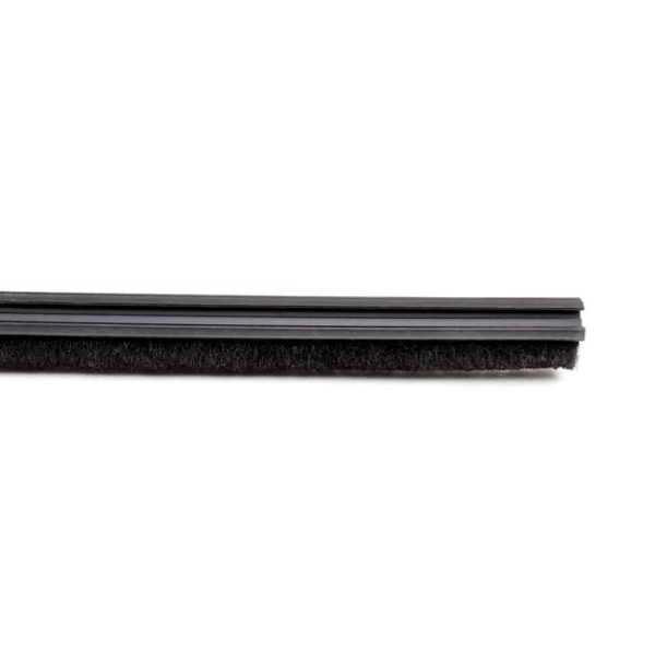 Уплотнитель Ergon 4826048N по контуру полотна (щёточка) комплект чёрный 260см, H8 (1шт)