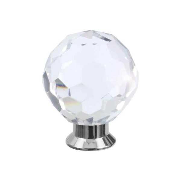 Кноб мебельный Salice Paolo Diamante 445BIS/A CR хром 1
