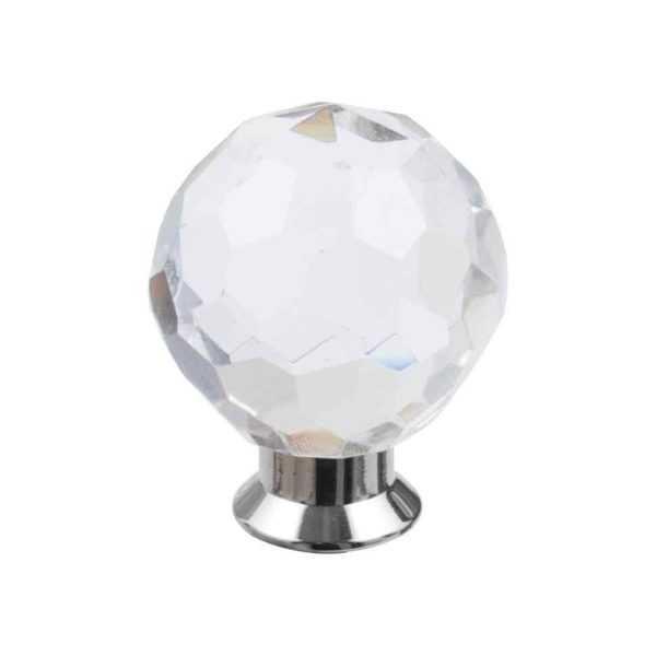 Кноб мебельный Salice Paolo Diamante 445BIS/A NL никель