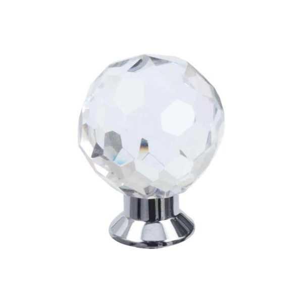 Кноб мебельный Salice Paolo Diamante 445BIS/C CR хром