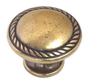 Мебельная ручка-кноб 24223Z03000.07 золото valenza