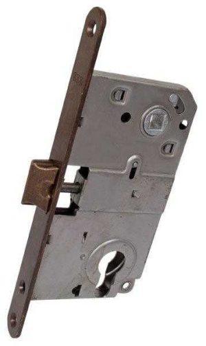 AGB Art. B010405002 Механизм для межкомнатных дверей Mediana бронза 90мм