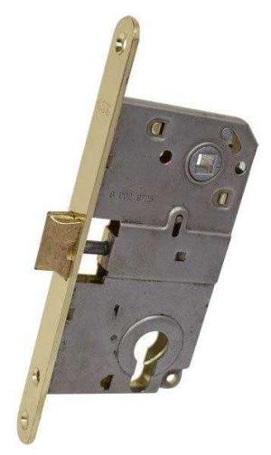 AGB Art. B010405003 Механизм для межкомнатных дверей Mediana латунь 90мм