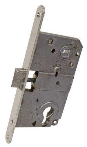 AGB Art. B010405006 Механизм для межкомнатных дверей Mediana никель     90мм
