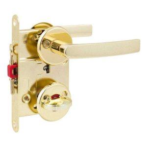 Комплект для межкомнатной двери Comit PS 01 PB/WC (ручка