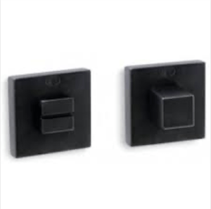 Convex 1085 WC накладка (квадратная) матовый черный