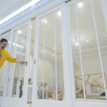 раздвижные двери изготовление