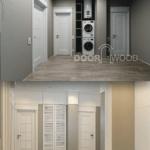 Реализация дизайнерского проекта деревянные двери Киев