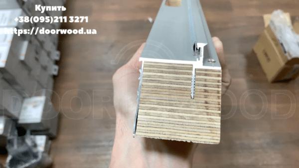 Алюминиевый короб Скрытые двери