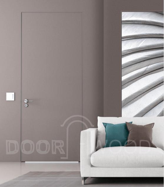 Приховані двері під фарбування