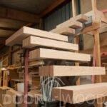Фабрика дверей - Лестница из ясеня