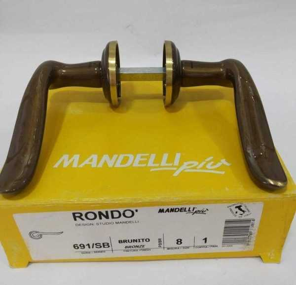 Rondo 691 mandelli коричневая золото Распродажа