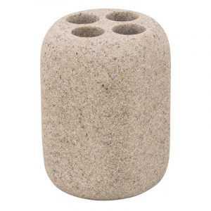 Стакан для зубных щеток Trento Pure Stone изготовлен из достаточно прочного материала - полирезина. Дизайн стакана для зубных щеток Trento Pure Stone универсален и будет хорошо сочетаться с другими аксессуарами в ванной комнате. Комплектация • Стакан Советы по уходу. Старайтесь раз в неделю начисто вымыть стакан дезинфицирующими бытовыми средствами. Стакан для зубных щеток Trento Pure Stone представленный интернет магазином dom-market.com – это современное решение для ванной комнаты.