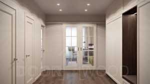Двери межкомнатные со скрытыми петлями - современный интерьер