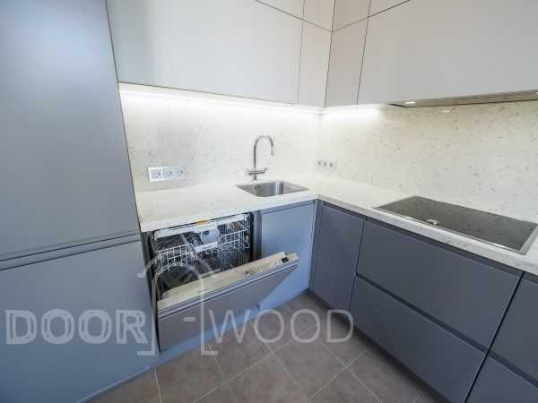 Кухня Фасады MDF - встроенная посудомоечная машина