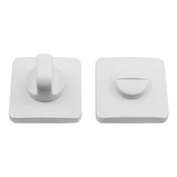 Дверная накладка Colombo Design PT 19 BZG WC матовый белый RoboquattroS (47056)