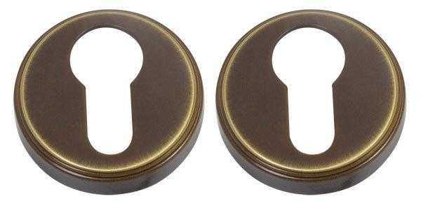 dvernaya nakladka pod klyuch colombo design cd 1003 bronza piuma 2602 5fd64054b60f6