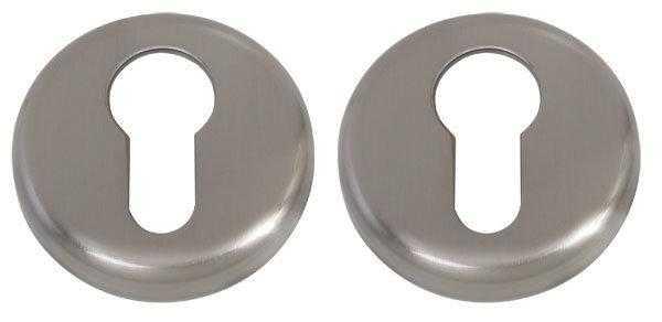 Дверная накладка под ключ Colombo Design Colombo CD 63 G B матовый никель     (Mach, Talita) (2815)