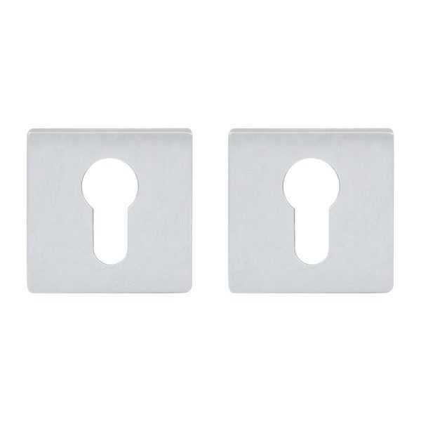 Дверная накладка под ключ RDA RY-64 брашированный матовый хром кл Miura,Forme Q,Taglio,Maria (53523)