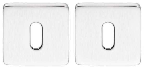 Дверная накладка под прорезь Colombo Design BT 13 BB матовый хром (Esprit, Fedra) (33821)