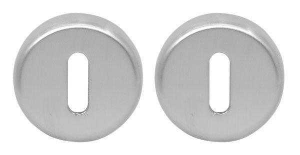 Дверная накладка под прорезь Colombo Design CD 63 BB матовый хром (Robot, Robodue, Ludus) (970)