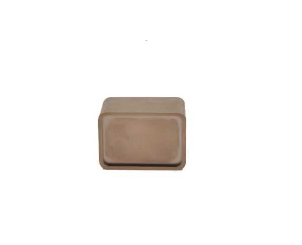 Дверная накладка WC M&T Maximal 000719 TIN-B (под вставку)  титан/коричневый матовый (53369)