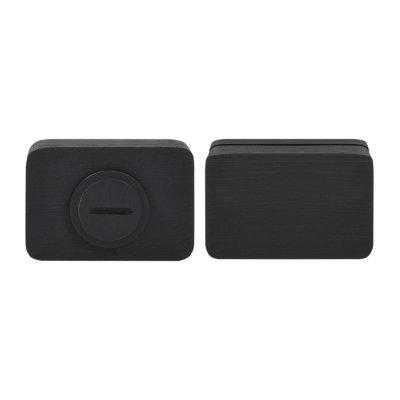 Дверная накладка WC M&T Minimal 087734 Cr-K брашированный черный (53194)