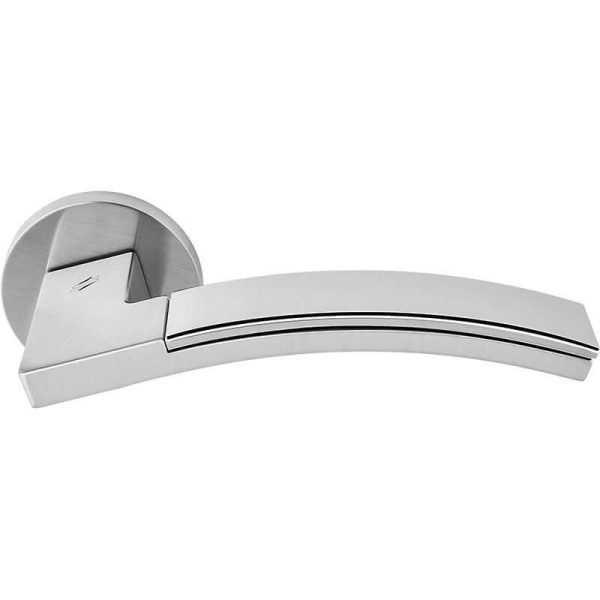 Дверная ручка Colombo Trama LC71 RSB  хром/матовый  хром (45804)