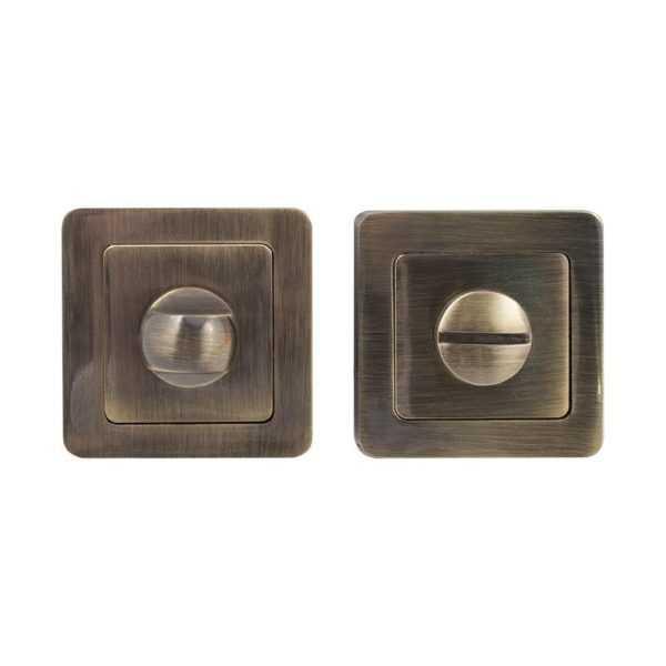 Накладка COMIT Moderno WC, лакированная античная латунь (50695)