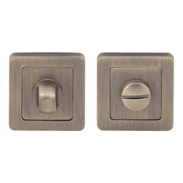 Накладка COMIT Moderno WC матовая античная латунь (47256)