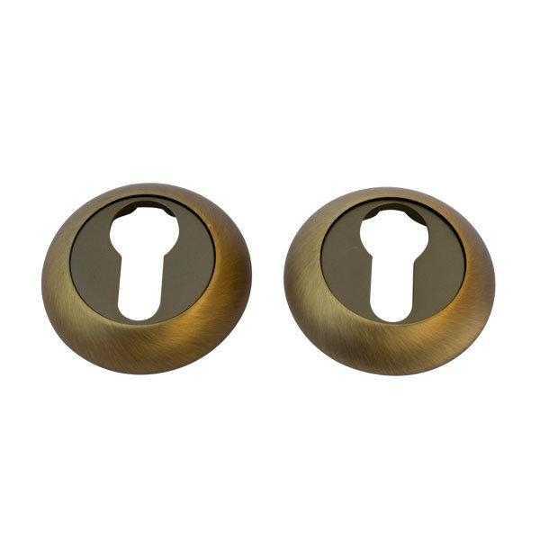 Накладка дверная под ключ COMIT CMRY-59 R кофе (36762)