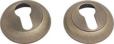 Накладка дверная под ключ COMIT CMRY-59 R матовая античная латунь (38131)