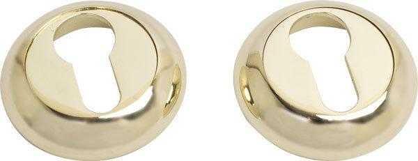 Накладка дверная под ключ COMIT CMRY-59 R полированная латунь (38137)