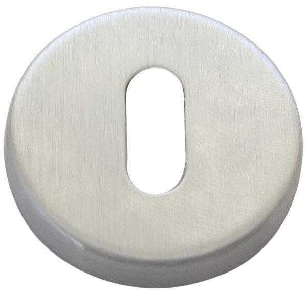 Накладка дверная под прорезь STV матовый хром (sale) (5409)