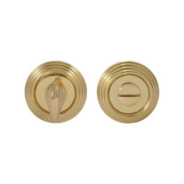 Накладка дверная WC  Fimet 269 F01 полированная латунь (30259)