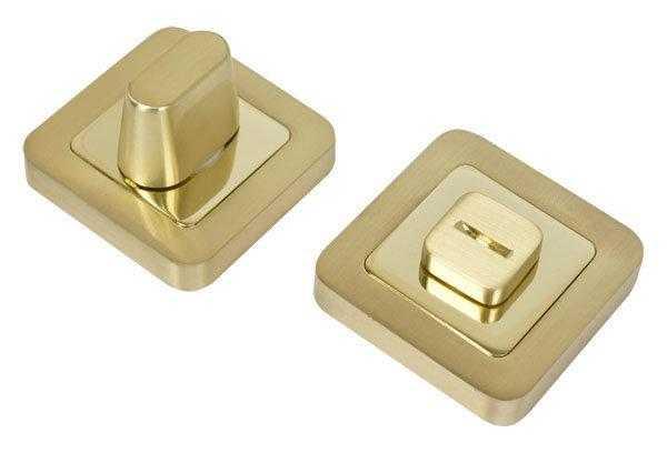 nakladka dvernaya wc rda cube sens wc 40 polirovannaya latun matovaya latun 34775 5fd6488cdced8