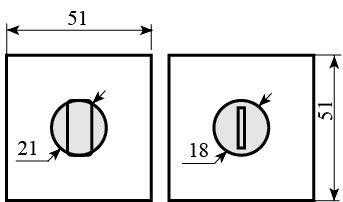 nakladka dvernaya wc rda soft kubic mielle matrix tetrix wc 49 hrom 17396 5fd654a58ce00