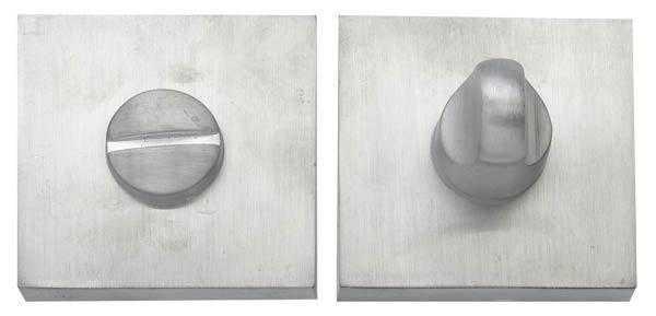 Накладка дверная WC RDA Soft, Kubic, Tecno, Mielle, Matrix, Tetrix WC-49 матовый хром (17363)
