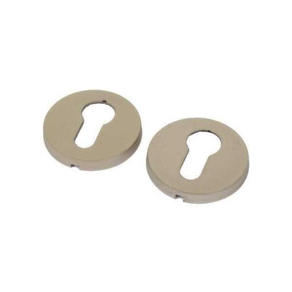 Накладка кл Mandelli (3041) Duo мат.сатин никель (6390)