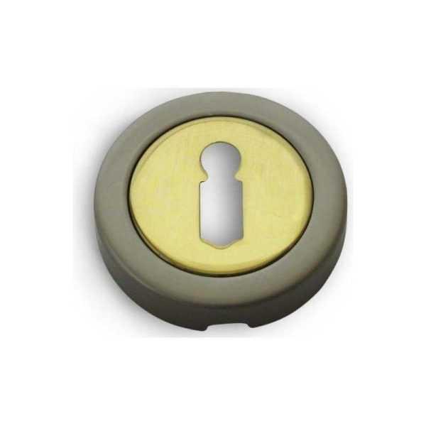 Накладка прорезь Fimet 2031 F64 мат.никель/пол.латунь (3061)