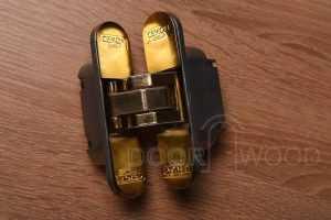 Скрытые петли Cemom Estetic-80A золото универсальная