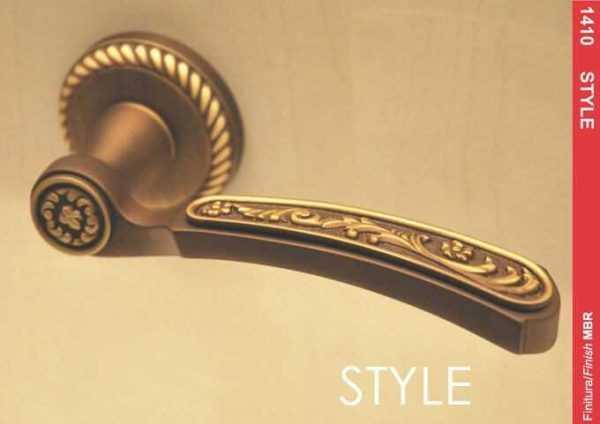 ruchka mandelli 1411 style mat bronza r f z 18988 602e6a8dc6b30