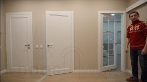 Межкомнатные двери видео портфолио дверей