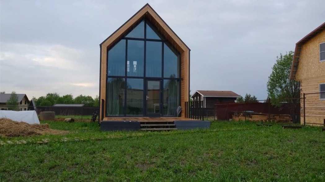 Алюминиевые оконные конструкции в частный дом