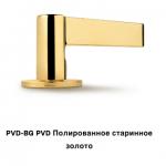 DND ручки полированное старинное золото