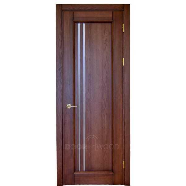 Межкомнатная дверь Монако 1.1 дерево массив ясень