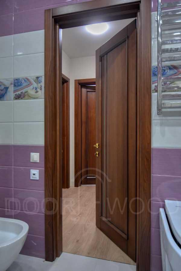 Межкомнатная дверь в санузел Монако 1.1